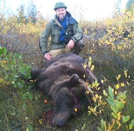 Alaska Remote Guide Service Bear Hunting.