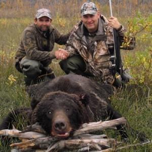 Bear Hunt with Alaska Remote Guide Service