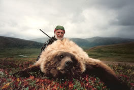 Hunt Brown Bear/Grizzly Bear with Alaska Remote Guide Service